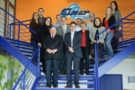 La Direction et l'Equipe Commerciale d'Eurep Industries
